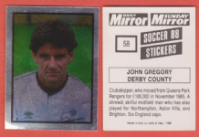 Derby County John Gregory England